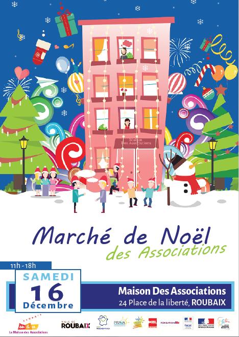 Affiche marche de noel 2017