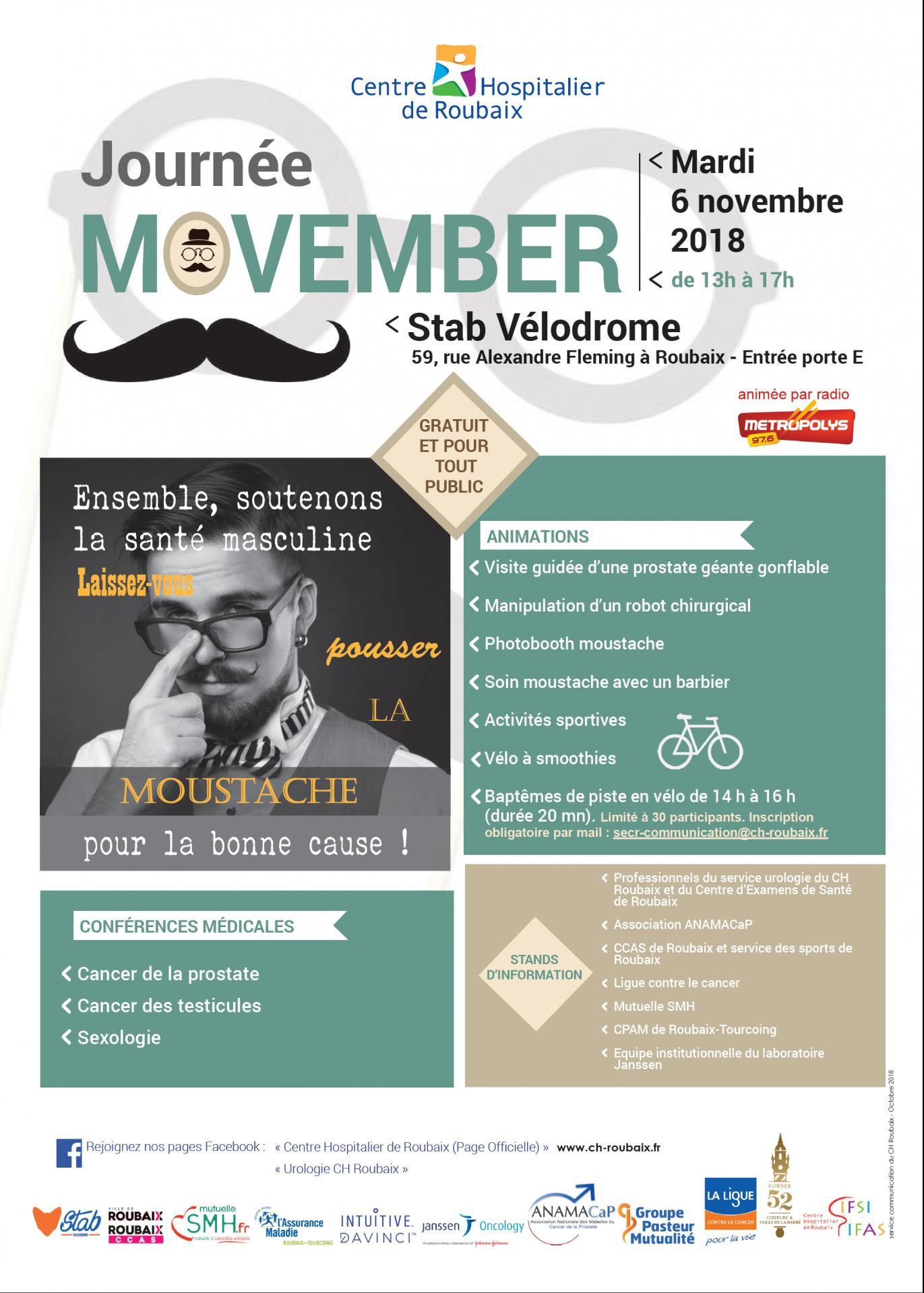 Affiche movember