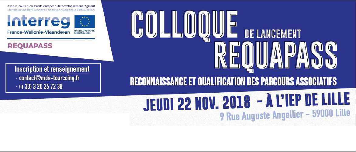 Quatre années pour travailler en France et en Belgique sur la qualification des parcours des bénévoles