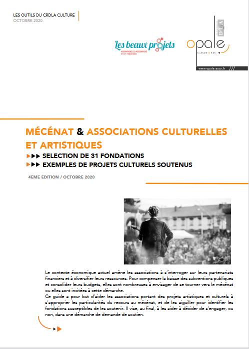 Guide mecenat culturel