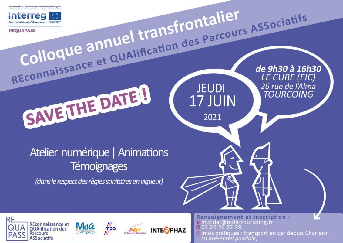 Invitation colloque 17 juin 2021