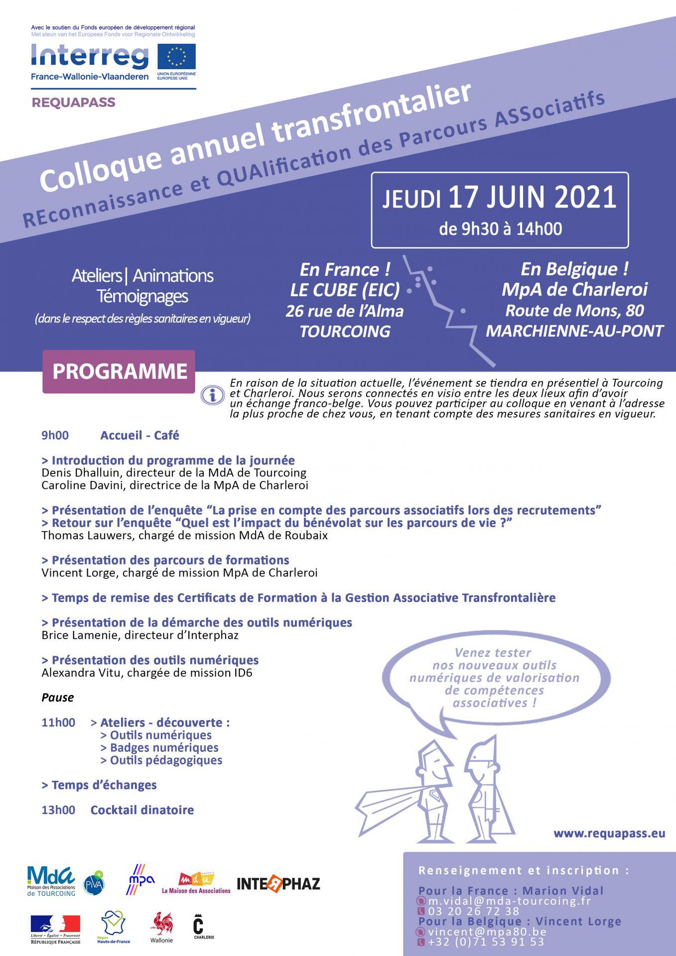 Programme colloque 17 juin 2021