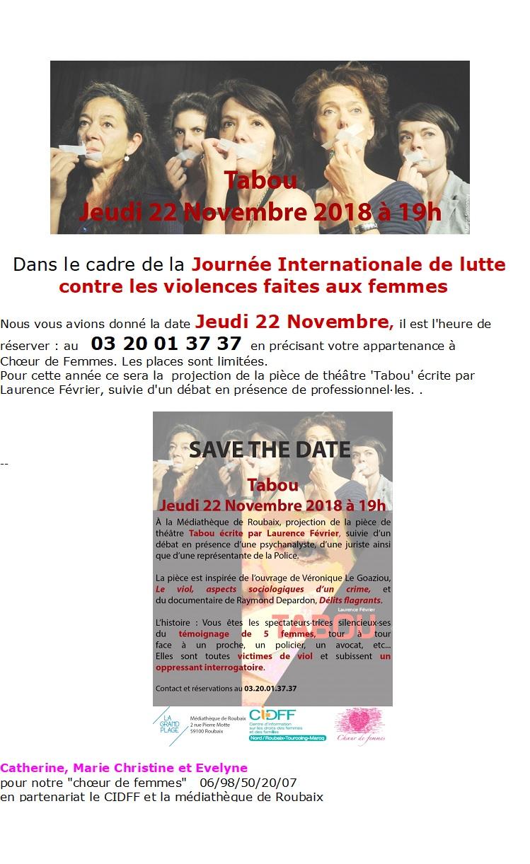 Save the date de c de f